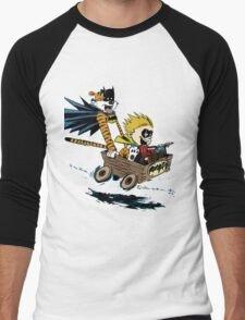 Calvin Hobbes Explore Men's Baseball ¾ T-Shirt