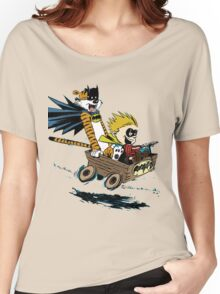 Calvin Hobbes Explore Women's Relaxed Fit T-Shirt