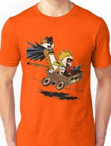 Calvin Hobbes Explore Unisex T-Shirt