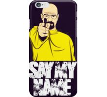 Breaking Bad - Say My name Walter White iPhone Case/Skin