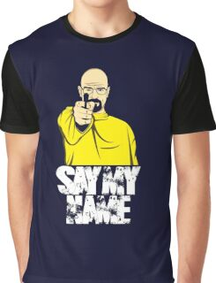 Breaking Bad - Say My name Walter White Graphic T-Shirt
