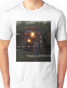 How long do i have to wait on these trains? T-Shirt