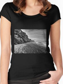 Great Ocean Road Beach Women's Fitted Scoop T-Shirt