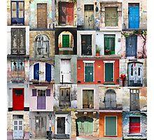 Thirty Doors Photographic Print