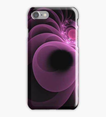 Abstract Fractal Art With Platforms iPhone Case/Skin