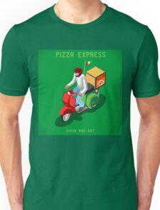 Pizza Scooter Express Unisex T-Shirt