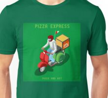 Pizza Scooter Express Unisex T-Shirt
