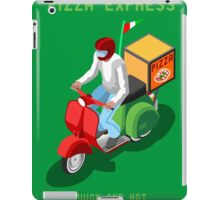 Pizza Scooter Express iPad Case/Skin