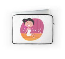 Sauna girl be Well ;-) Laptop Sleeve