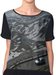The Grossglockner Alpine  Road Chiffon Top