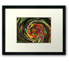 Psychedelic Wave Framed Print