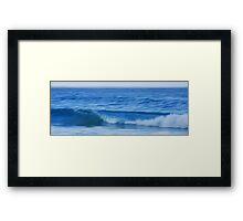 Noosa Blue Framed Print