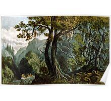 Forest scene summer - 1880 - Currier & Ives Poster