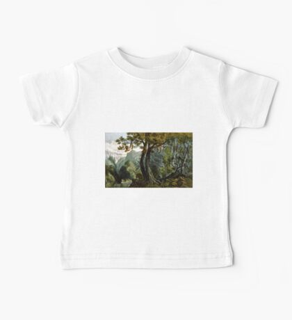 Forest scene summer - 1880 - Currier & Ives Baby Tee