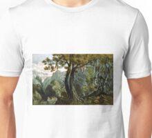 Forest scene summer - 1880 - Currier & Ives Unisex T-Shirt