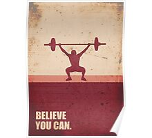 Believe you can - Business Quote Poster