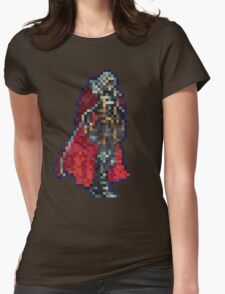 Alucard Vintage Pixels Womens Fitted T-Shirt