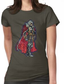 Alucard Vintage Pixels Womens Fitted T-Shirt