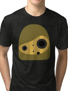 Laputa- Robot Head Vector Tri-blend T-Shirt