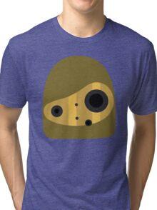 Laputa- Robot Head Vector Tri-blend T-Shirt