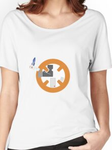 Happy little BB8 Women's Relaxed Fit T-Shirt