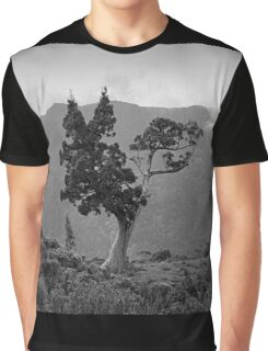 Pencil Pine & Mt Oakleigh Graphic T-Shirt