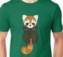 Lesser Panda / Red Panda Hanging Body Unisex T-Shirt