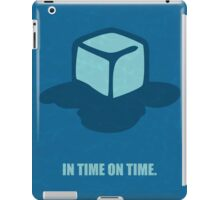 In time on time ! Business Quote iPad Case/Skin