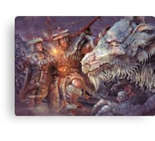 Meeting the Elder Dragon Canvas Print