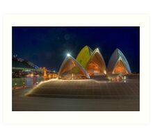 Opera House and Forecourt Art Print