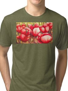 Dancing Tulips Tri-blend T-Shirt