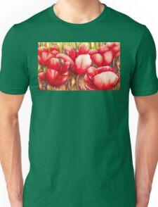 Dancing Tulips Unisex T-Shirt