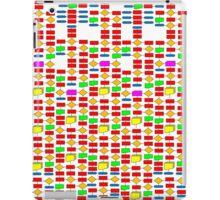 Colourful Flowchart Design iPad Case/Skin