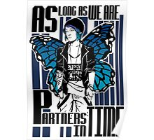Partners in time - Chloe Price Poster