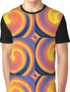 Sixties Twirl Graphic T-Shirt