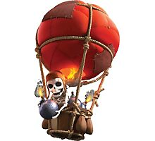 Clash of Clans Balloon Photographic Print