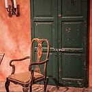 USA. Philadelphia Flower Show 2016. The Chair and the Door. by vadim19