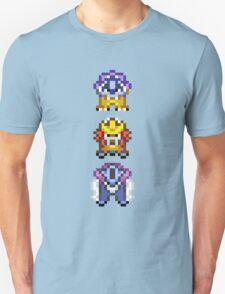Legendary beasts 16 bit Unisex T-Shirt