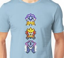 Legendary beasts 16 bit Unisex T-Shirt