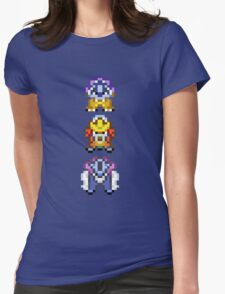 Legendary beasts 16 bit Womens Fitted T-Shirt