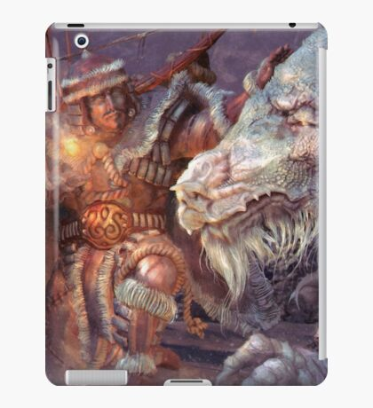 Meeting the Elder Dragon iPad Case/Skin