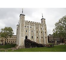 White Tower - Tower of London Photographic Print