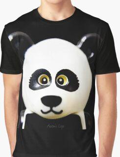 Cute Lego Panda Guy Graphic T-Shirt
