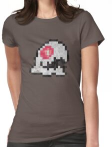 Bubble Bobble Ghost Monster Womens Fitted T-Shirt
