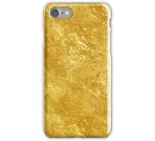 Gold texture iPhone Case/Skin
