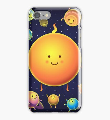 Space Friends iPhone Case/Skin