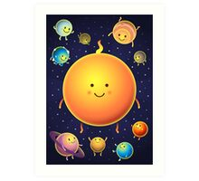 Space Friends Art Print