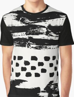 Brush Stroke Waves Graphic T-Shirt
