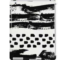 Brush Stroke Waves iPad Case/Skin