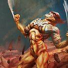 Wolverine's Rage by CarloReynolds